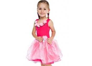 Dress ups - Sweetpea Fairy dress in Hot pink. Made using the finest of fabrics, this dress shimmers and dances with each fairy step. Fits perfectly and looks amazing.  http://www.littleredcloset.co.nz/sweetpea-fairy-dress