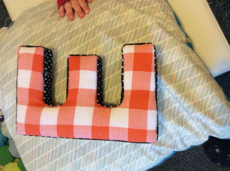 Fabric covered E