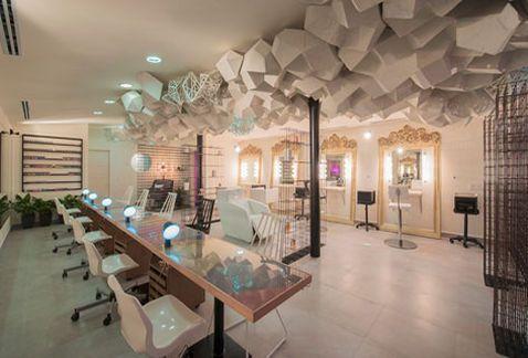 Un salón de belleza inspirado en las nubes - Grupo Milenio: