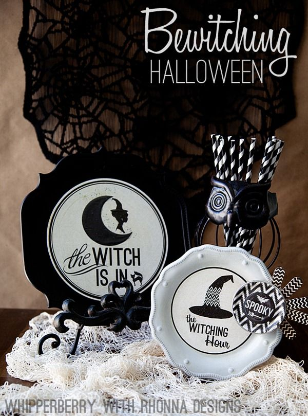 Bewitching Halloween Decor - Heather from Whipperberry.