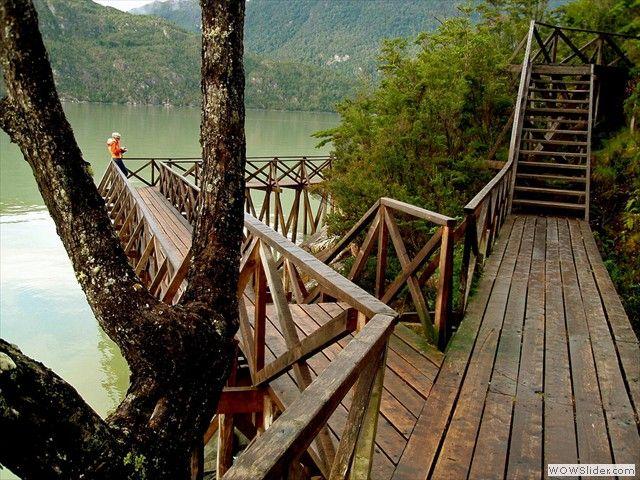 Caleta Tortel, Chile