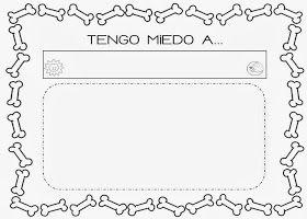 Mi grimorio escolar: TENGO MIEDO A...