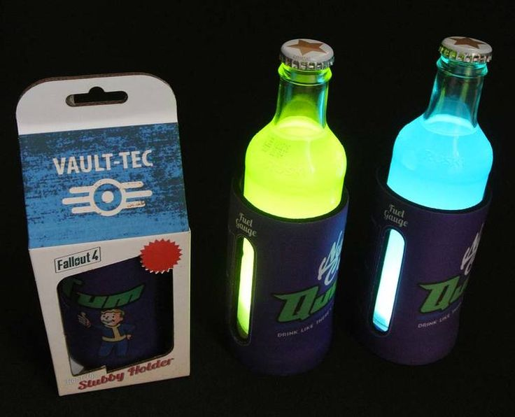 We use an super-bright LED powered by coin cells to uplight through the beverage - and it looks amazing with all those colourful energy drinks out there.