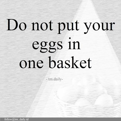 TM.Daily: Do not put in one basket