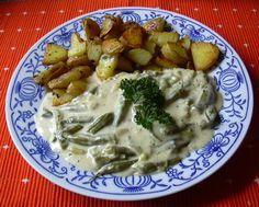 Fazolky na smetaně :: Domací kuchařka - vyzkoušené recepty