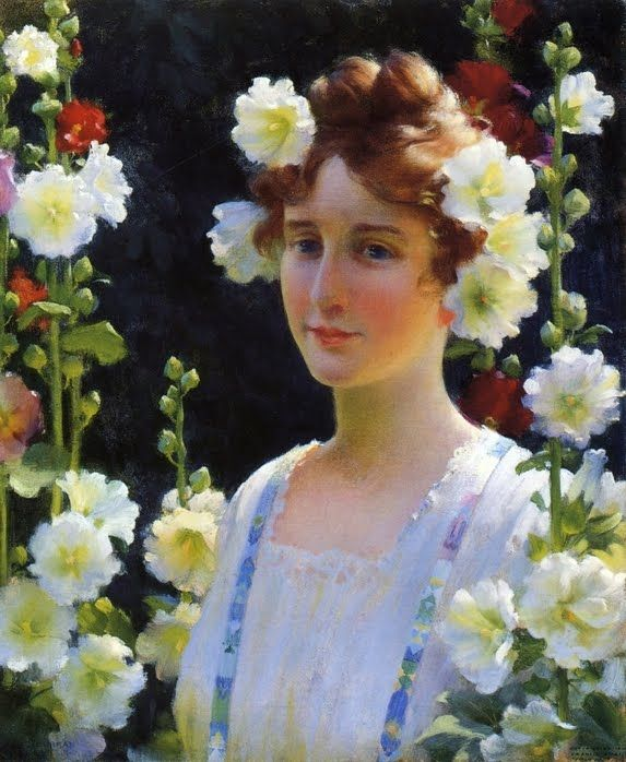 Charles Courtney Curran - Blossoms