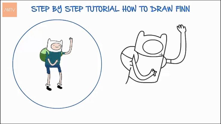 How to Draw Finn   Drawing Time Lapse   853672 HTD
