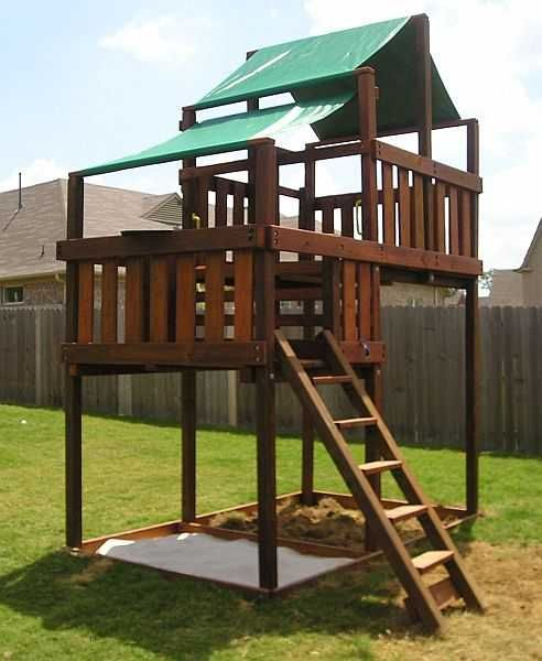Wooden Do-It-Yourself Playset