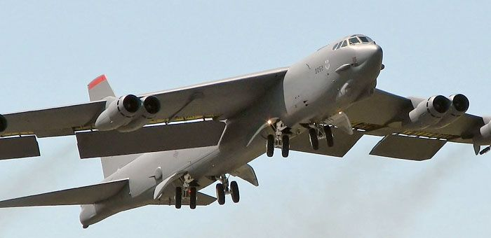 Boeing B-52 Stratofortress Bomber Plane