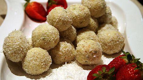 Coconut cardamom burfi recipe : SBS Food