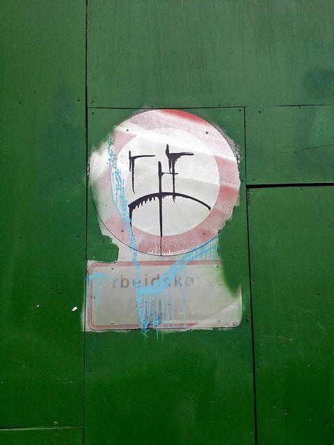 Street art in Copenhagen. #streetart