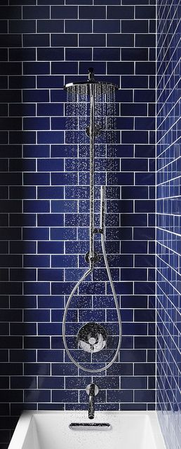 Hydrorail by Kohler - Love these walls!