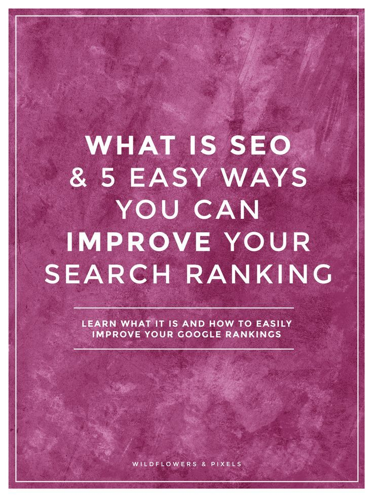 What Is SEO & 5 Easy Ways You Can Improve Your Search Ranking?