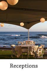 south island reception venue? Beach House Restaurant :: Kauai Wedding Parties