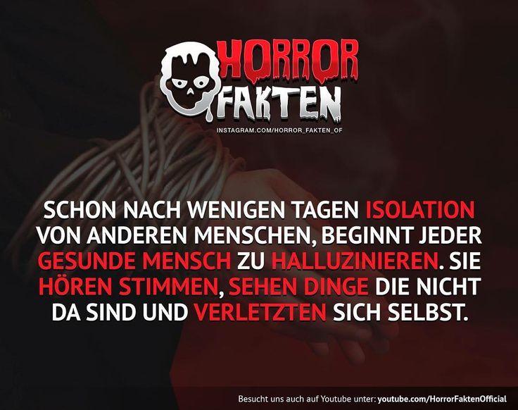 ❝Je länger desto verrückter wirst du❞  #horrorfakten