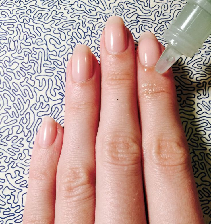 Apply a small dab of cuticle oil to dry cuticles.