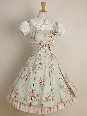 sweet lolita! I want this so bad! #lolita #japan #harajukudistrict