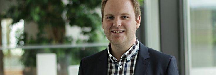 Neues aus unserer Reihe StudiPower@Baloise: Patrick Donnet, der von seiner Kombination aus Wirtschaftsrecht und Kundenservice berichtet.