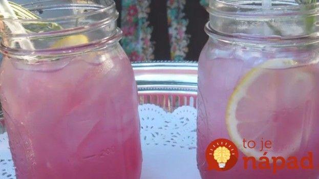 Vyzkoušejte tuto zázračnou limonádu z levandule: Zažene úzkost, bolest hlavy a chutná úžasně!