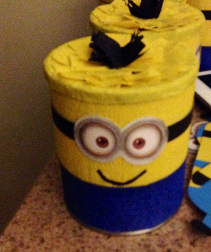 Minion out of baby formula can