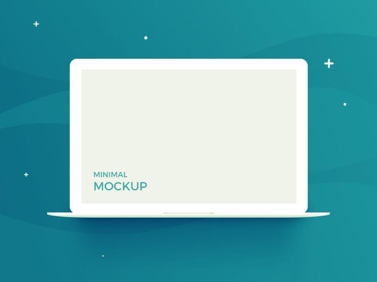 Free Minimalist Macbook Vector Mockup In Psd Minimalist Macbook Vector Mockup Psd Macbook Mockup Macbook Psd Mockup