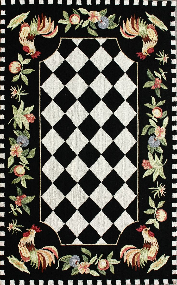 French Country Kitchen Rugs 89 Best Images About Rooster Kitchen Rugs On Pinterest Rooster