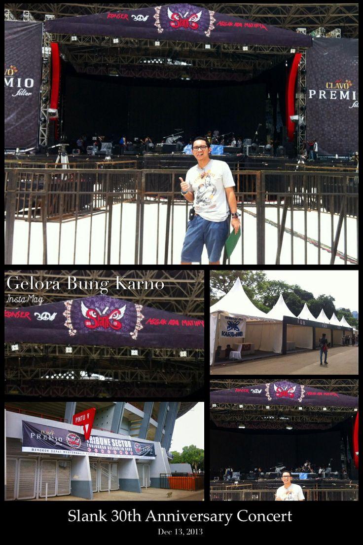 Slank 30th Anniversary Concert 13 Dec 2013 at Gelora Bung Karno - Senayan