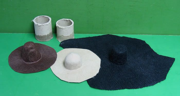 Tutorial : Making felt hats. - OSW: One Sixth Warrior Forum