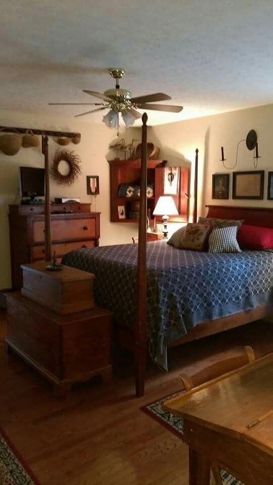 Primitive Bedroom Decor Lovely