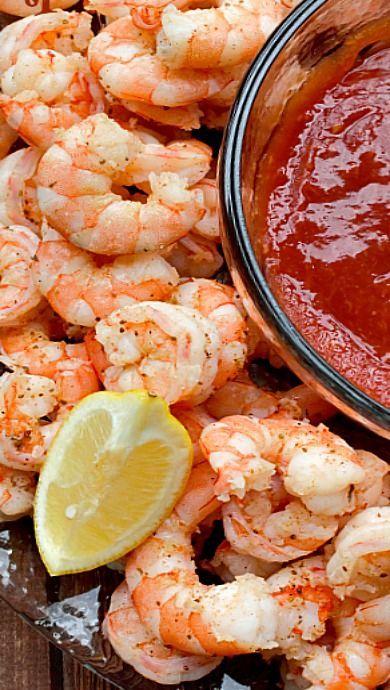 Drunken Shrimp Cocktail Recipe