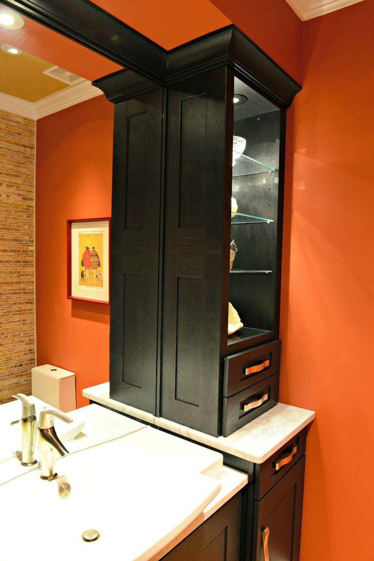Bathroom Remodel Milton, Delaware Wolf Designer Cabinetry L Lint Tile  Accent Wall L Granite Countertop L Escale Raised Bowl Sink Www.bsdshowroomu2026