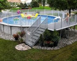 Inexpensive Above Ground Pool Landscaping Ideas 128 best above ground  pool landscaping images on pinterest