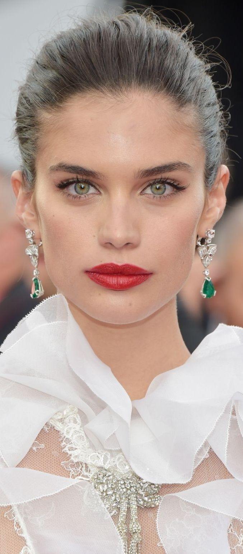 Sara Sampaio Cannes 2017 Maquilhagem, Sara sampaio e