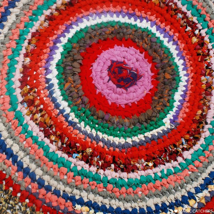 Colourful crochet rug, hand made carpet, ecofriendly eco rug, great for kidsroom.