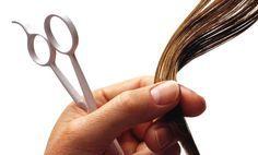 Doppie punte ai capelli - Il taglio