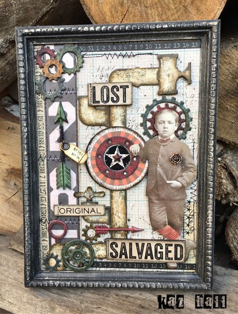 The Little Shabby Shed: Tim Holtz Pipeline Die