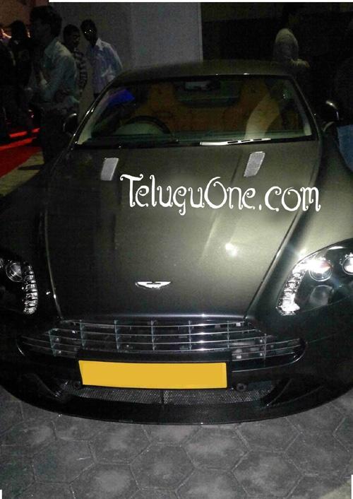 Ram Charan Swanky Aston Martin|Ram Charan Aston Martin | Ram Charan Aston Martin Car | Ram Charan Teja Aston Martin | Ram Charan Aston Martin v8 Vantage