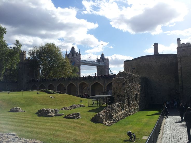 London Bridge from Tower of London