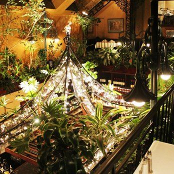 Photo of Rose Tattoo Cafe - Philadelphia, PA, United States. The view from the balcony seats. Simply gorgeous!