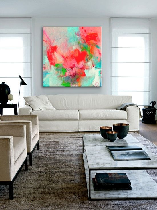 ROSSO SCURO [308947923213] - $349.00 | United Artworks | Original art for interior design, buy original paintings online