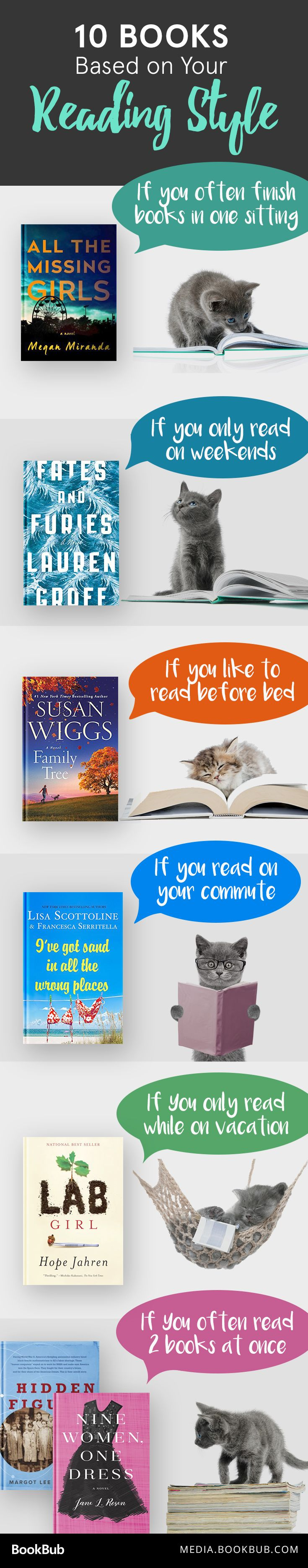 10 Books To Read Based On Your Reading Style