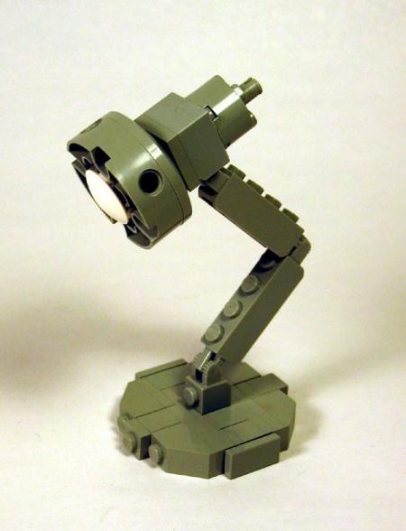 LEGO Luxo (Pixar lamp)