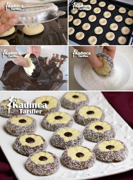 Flowers of Chocolate Cookie Recipe