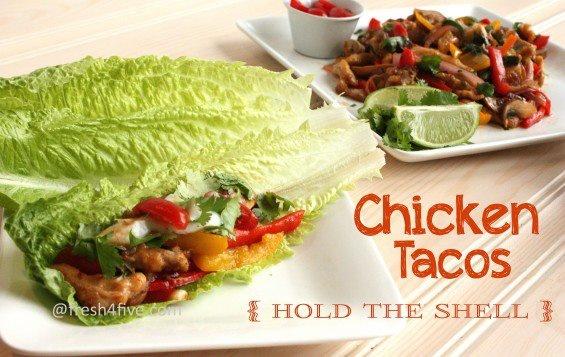 paleo chicken tacos | Food | Pinterest