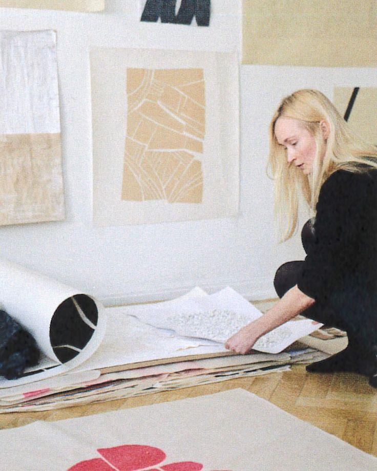 Our women's wear designer Åsa Stenerhag and her artwork #filippakworld