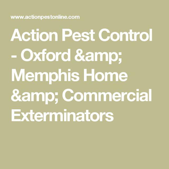 Action Pest Control - Oxford & Memphis Home & Commercial Exterminators