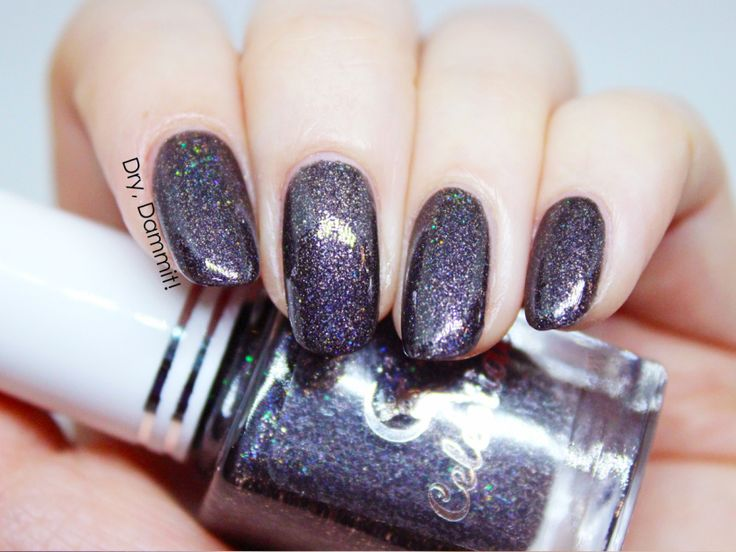 Celestial Cosmetics The Curse of Miss Ives Collection Little Scorpion swatched by Dry, Dammit!