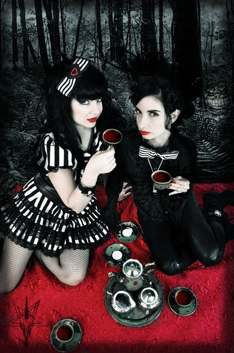 19 Best Images About Gothic Picnic amp Tea Time On Pinterest