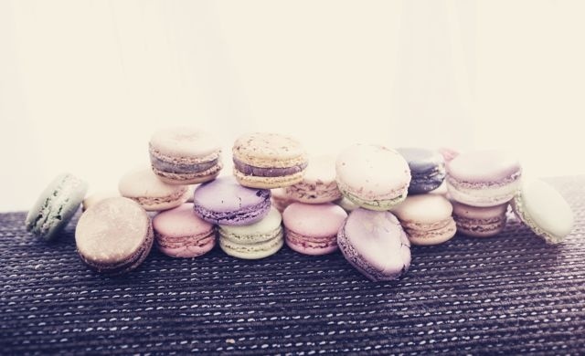 Macarons by Pierre Herme, Laduree. Photographer: Maartje Groenen