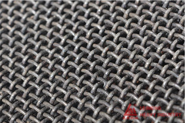 The Screen Mesh For The Crusher Machine Common Have Woven Wire Mesh Type Mesh Screen Spring Steel Cleaning Screens